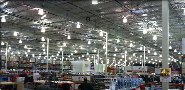 high bay lighting; acorn high bay application