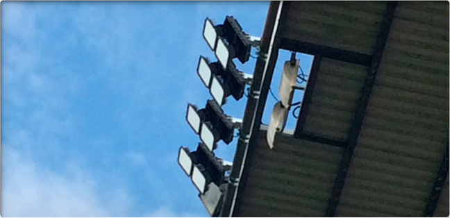 stadium lights; sufa-x stadium lighting application
