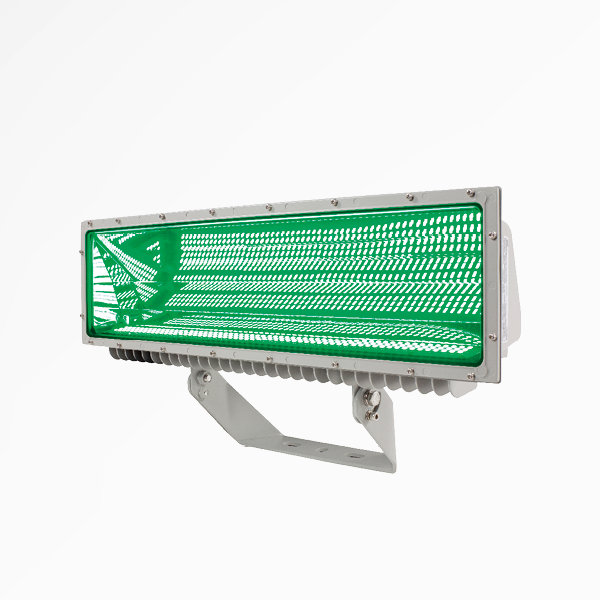 stadium lights; wapa-green stadium lighting